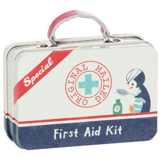 Maileg Metal Suitcase for Dolls, First Aid