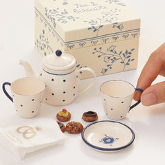 Maileg Tea Time Set with Biscuits, in Box