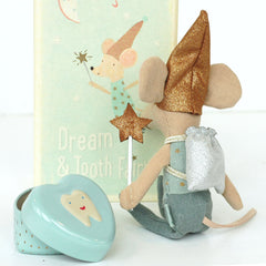Maileg Tooth Fairy Big Brother Mouse, NEW