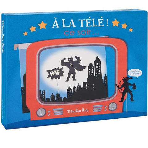 Moulin Roty Television Shadow Box