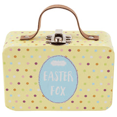 Easter Fox in a Suitcase, Blue