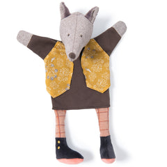 Moulin Roty Il Etait Une Fois Wolf Hand Puppet