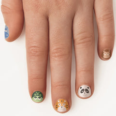 Fingernail Stickers, Zoo