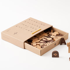 Hello Alphabet Wooden Block Set