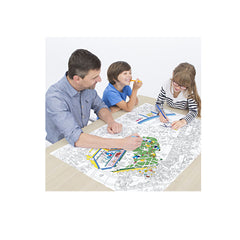 OMY Giant Coloring Poster, Dinosaurs