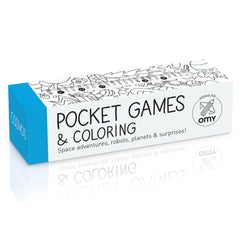 OMY Pocket Games & Coloring, Cosmos