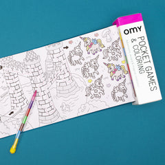 OMY Pocket Games & Coloring, Mystery