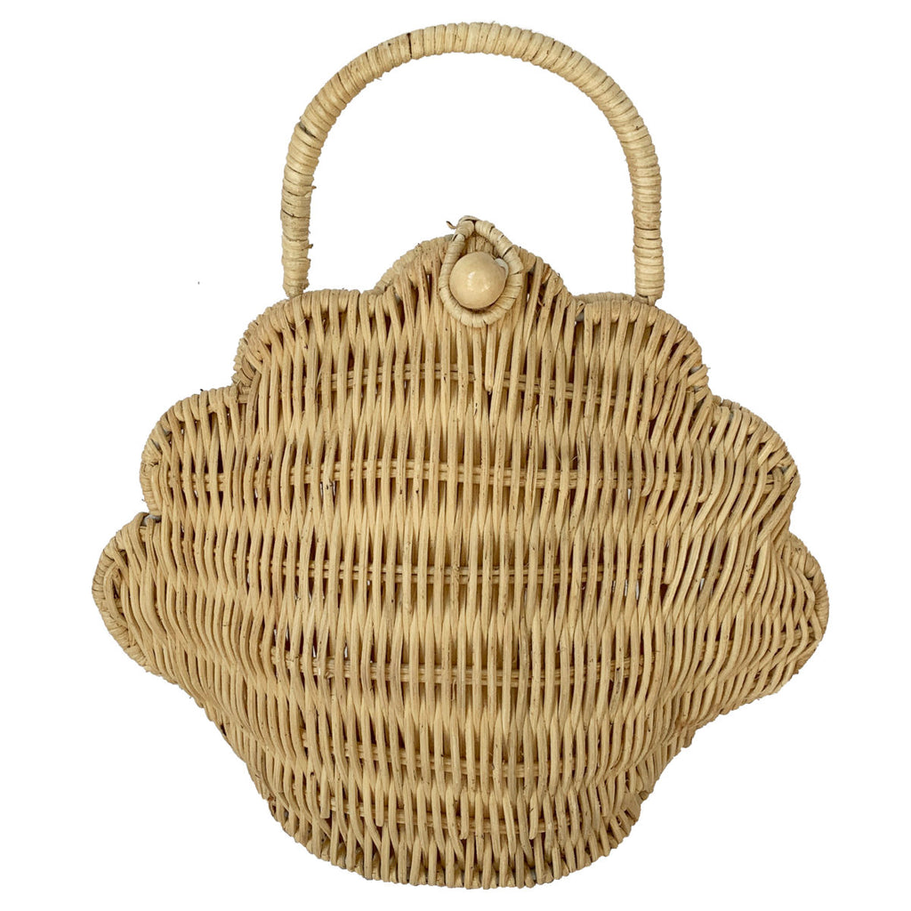 Olli Ella Shell Bag, Straw