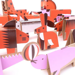 Fold Up Animal Parade