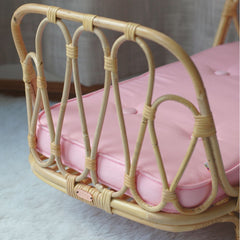 Poppie Doll size Day Bed, Pink