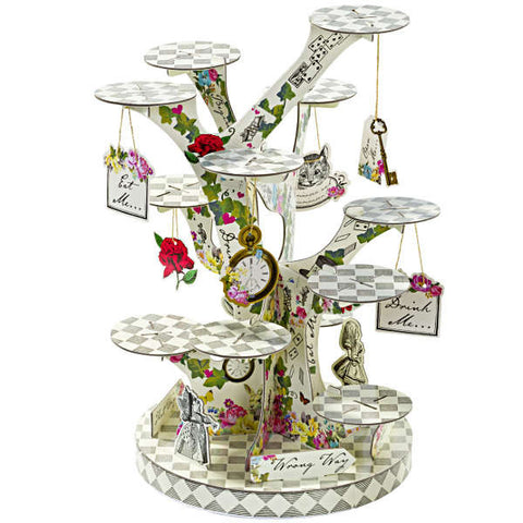 Alice Tea Party Treat Tower Stand