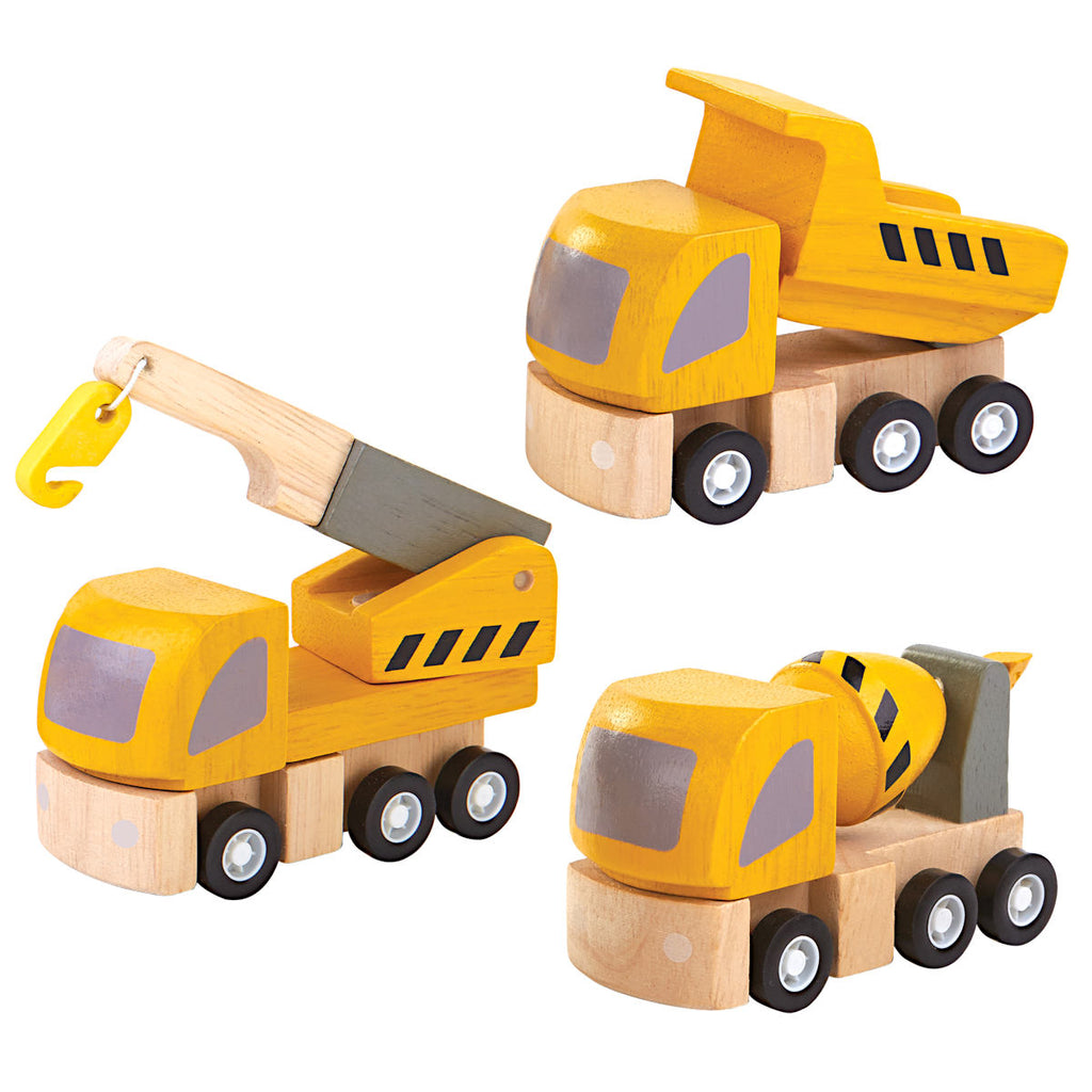 Plan Toys Highway Maintenance Vehicle Set