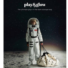 Play&Go Space Glow in the Dark Toy Storage Bag