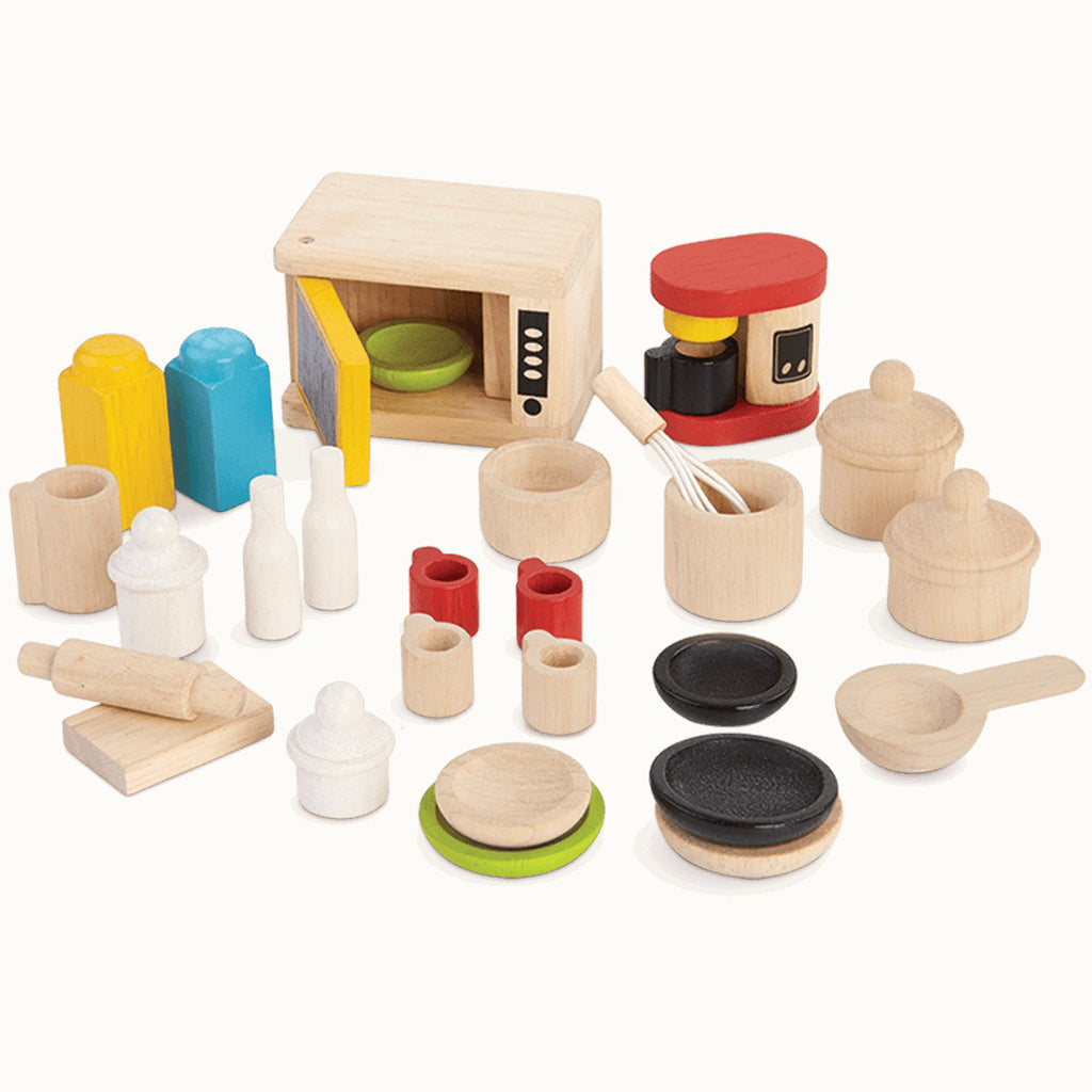 Plan Toys Doll House Kitchen & Tableware Accessories