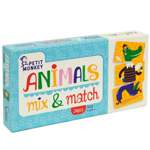 Petit Monkey Animals Mix & Match