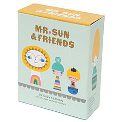 Mr Sun & Friends Wooden Dolls
