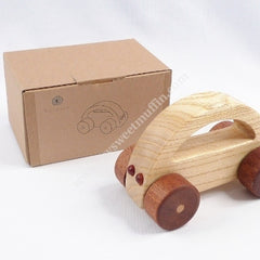 Eco-Wooden Push Along Car