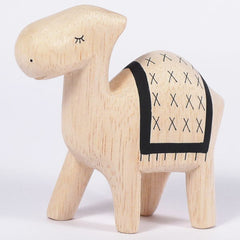 Natural Wooden Animal Figures from Japan