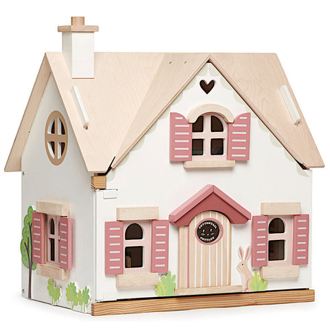Tender Leaf Toys Cottontail Cottage with Furniture