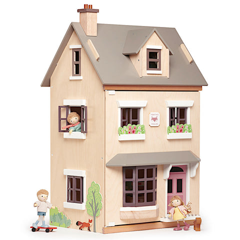 Tender Leaf Toys Foxtail Villa Cottage with Furniture