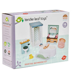 Tender Leaf Toys Dovetail Bath Room Set