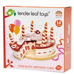 Tender Leaf Toys Chocolate Birthday Cake