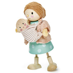 Tender Leaf Toys Mrs Goodwood and Baby