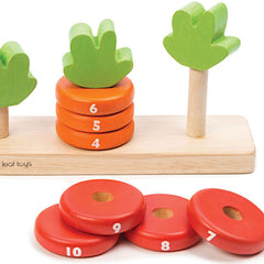 Tender Leaf Toys Counting Carrots