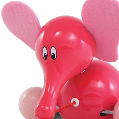 Villac Fanfan Elephant Pull Toy made in France