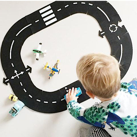 Waytoplay Flexible Toy Road, Ring Road (12pcs)