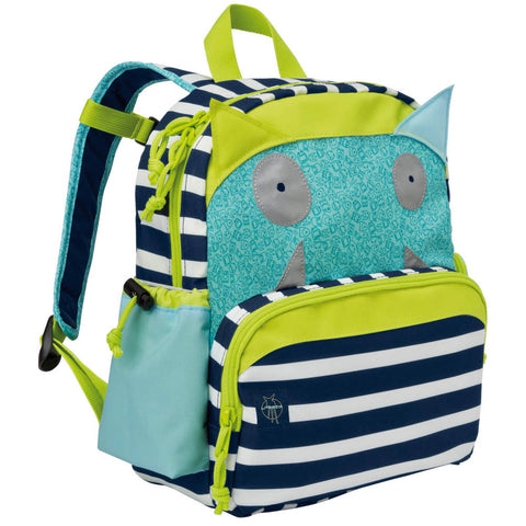 Lassig Little Monster Backpack, Bouncing Bob