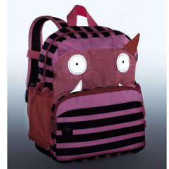 Lassig Little Monster Backpack, Mad Mabel