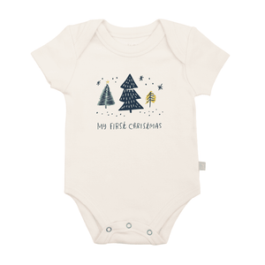 graphic bodysuit | 1st christmas