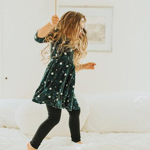 twirl dress & leggings | sweet dreams