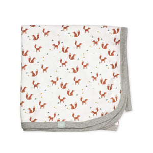 Baby swaddle blanket | foxes finn + emma