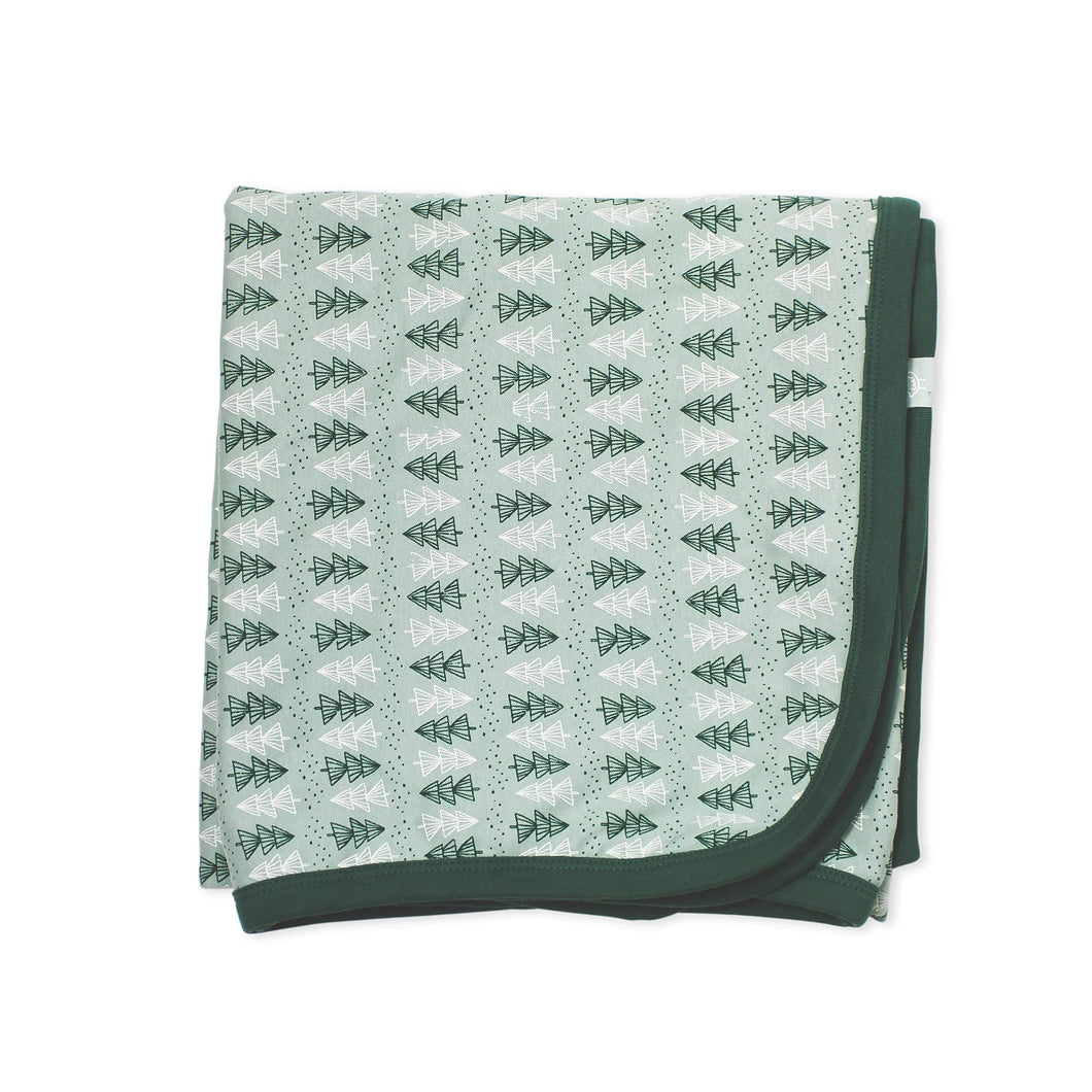 swaddle blanket | trees