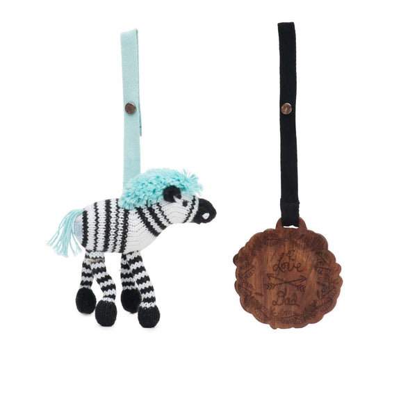 2 pc. stroller toys [daisy & love dad]