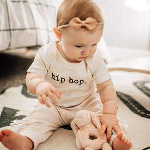 Baby graphic bodysuit | hip hop finn + emma