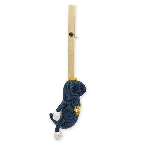 knit stroller toy | Maxwell