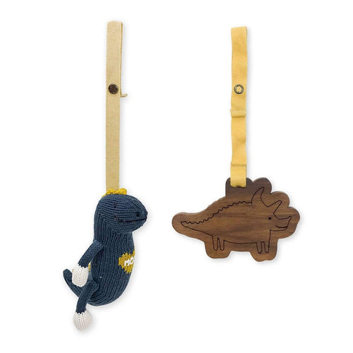 2 pc. stroller toys | maxwell & tom