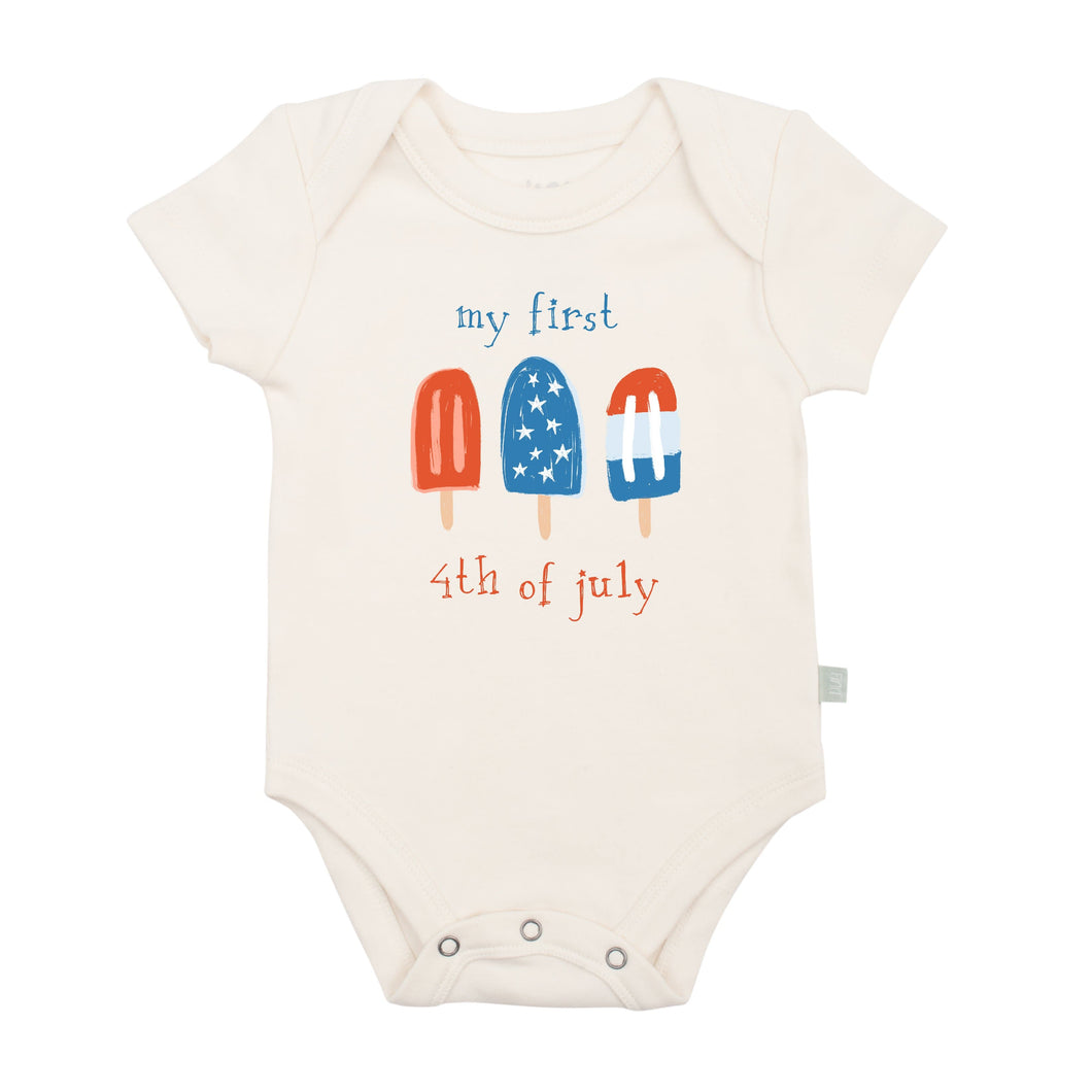 Baby graphic bodysuit | popsicles finn + emma