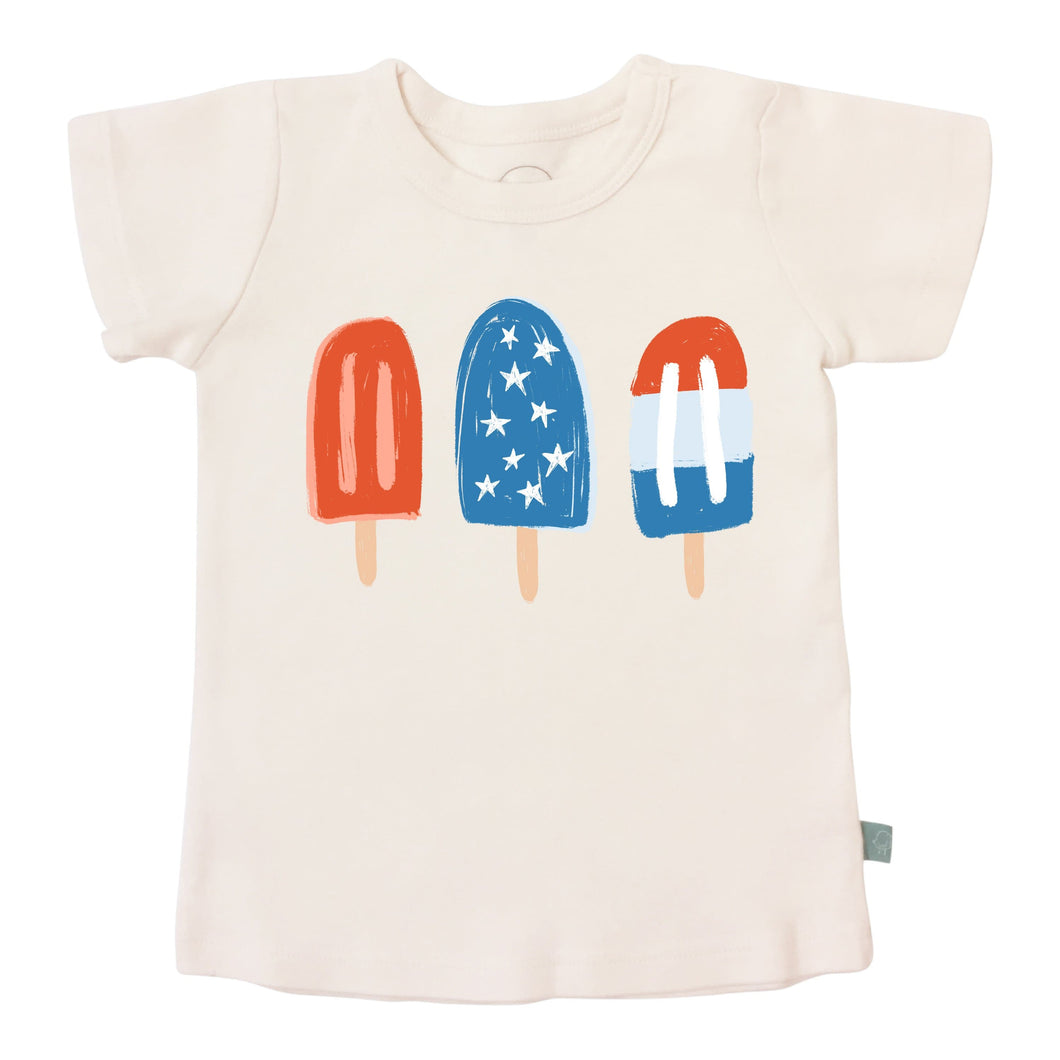 graphic tee | popsicles