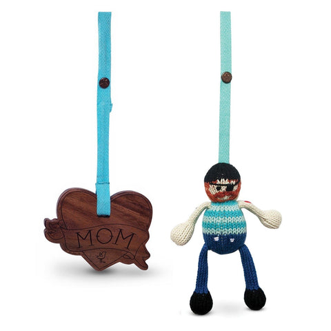 2 pc. stroller toys [jack & heart tattoo]