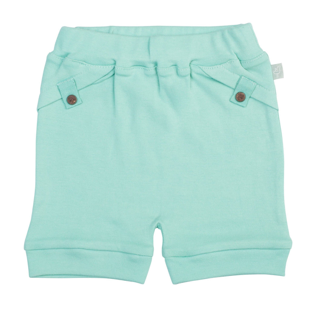 pull-up shorts | pool blue