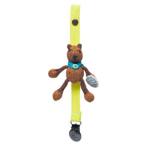 pacifier holder | fredrick the viking bear