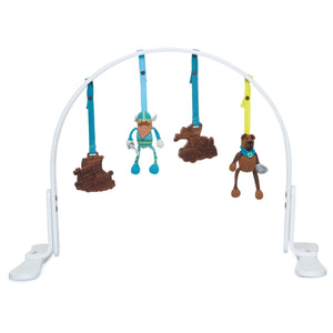 Baby play gym | vikings | white finn + emma