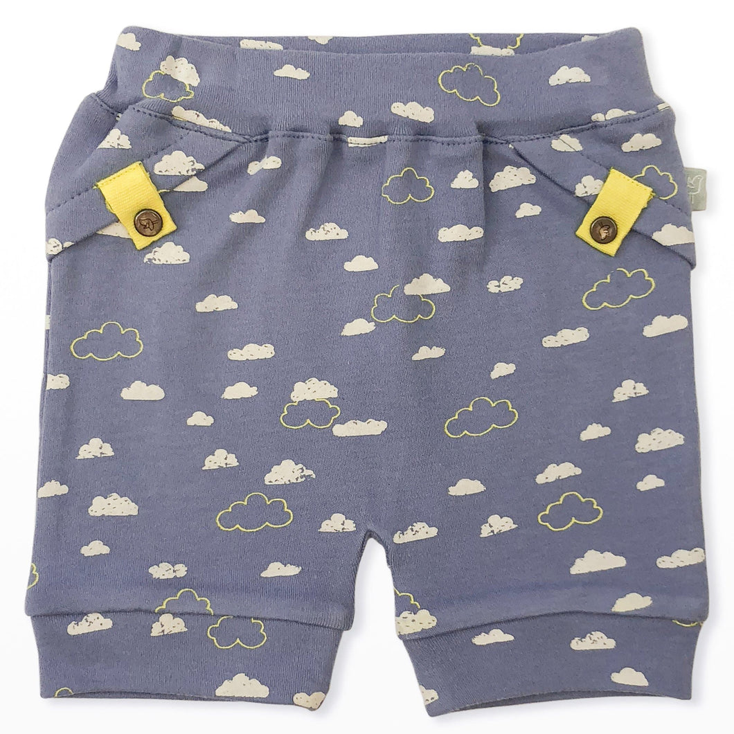 pull-up shorts | clouds