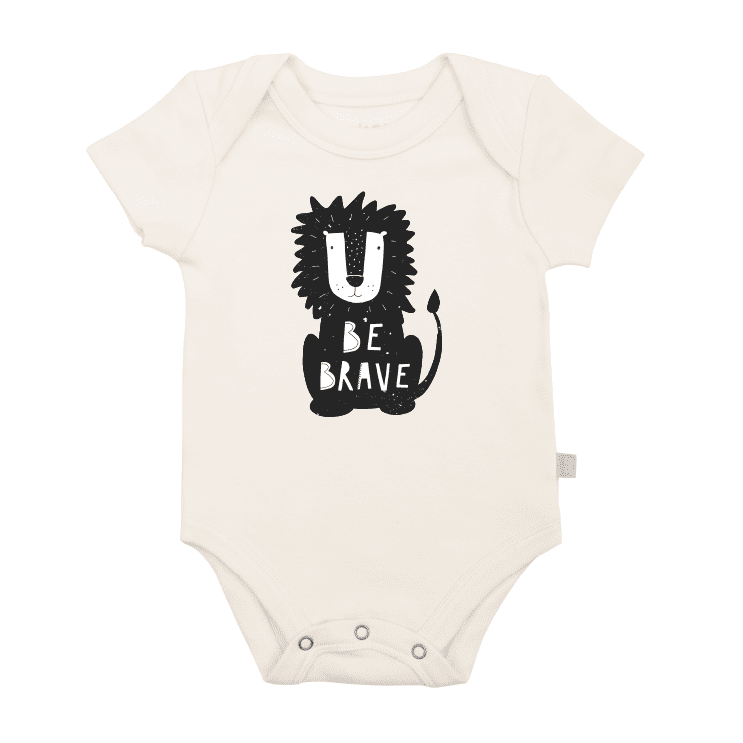 graphic bodysuit | be brave