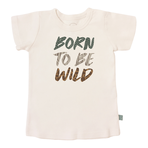 Baby graphic tee | born to be wild finn + emma