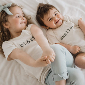 Baby graphic tee | biggie finn + emma